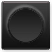 OneKeyElectro Выключатель одинарный Черный (1Е31301303)