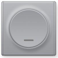 OneKeyElectro Выключатель одинарный с подсветкой Серый (1Е31701302)