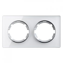OneKeyElectro Garda Рамка двойная Белая (2E52201300)