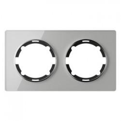 OneKeyElectro Garda Рамка двойная Серая (2E52201301)